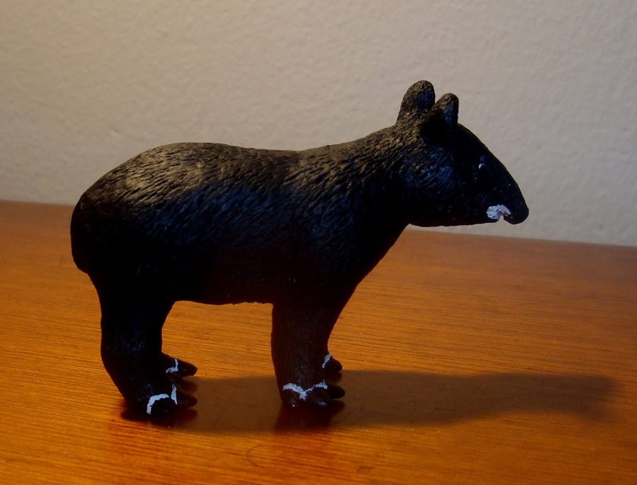 Mountain Tapir Figurine by Sergio Sandoval