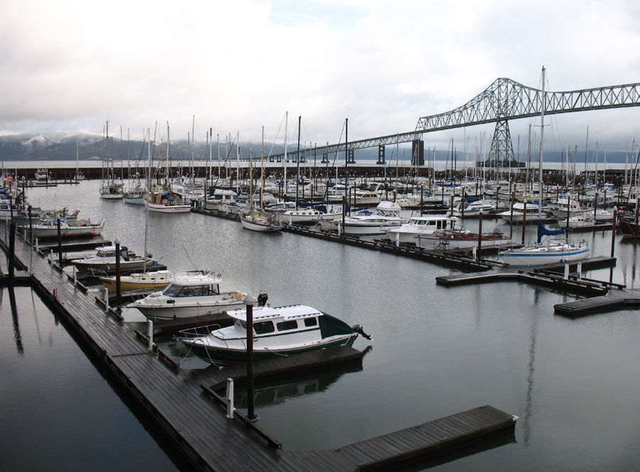 Photo Contest Submission by Karl Erickson, Boats in the West Mooring Basin from The Red Lion Inn, Astoria