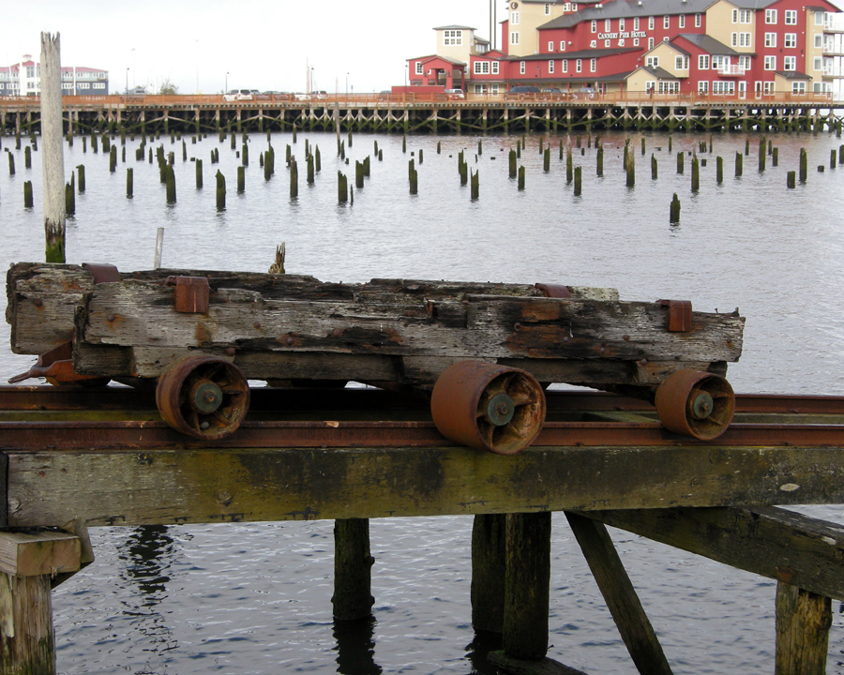 Rusty thing by the old cannery