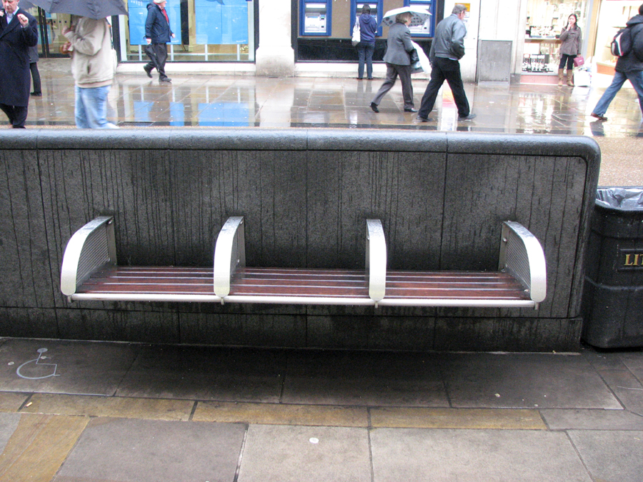 Benches in Oxford