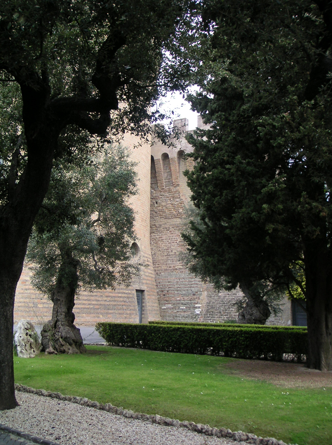 Fortress in the Vatican Gardens