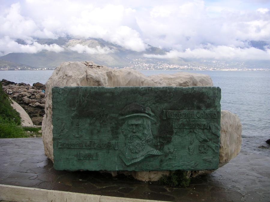 John Cabot Monument, Gaeta, Italy