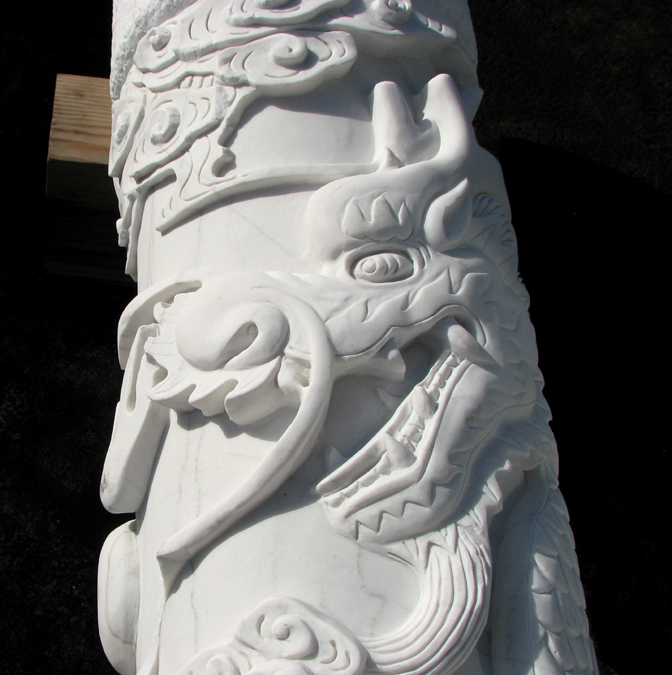 Stones and Carvings for Astoria's Chinese Heritage Park