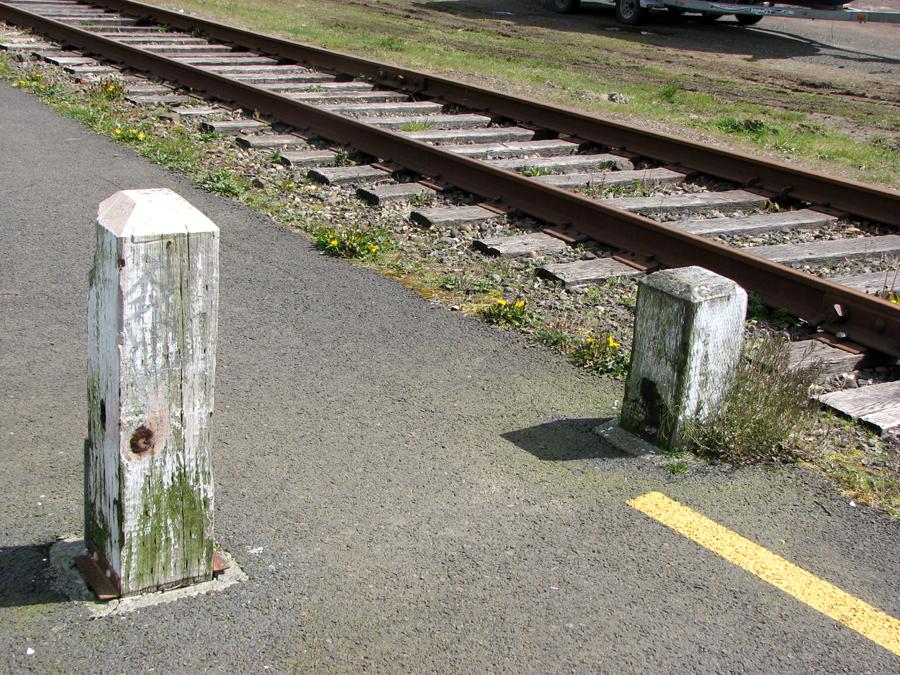 River Walk and Railroad Tracks, Astoria, Oregon
