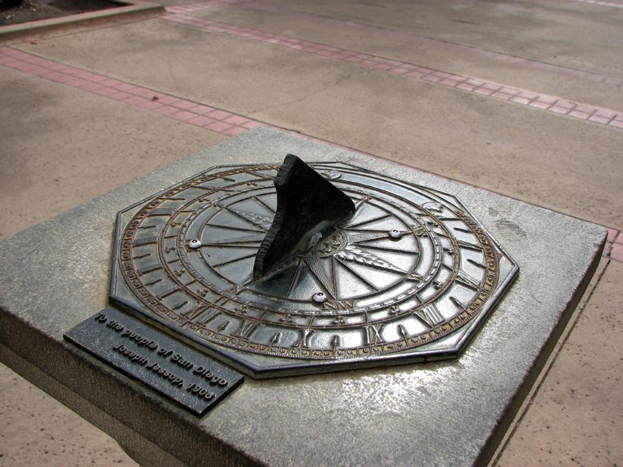 Sundial in Balboa Park