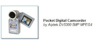 Pocket Digital Camcorder