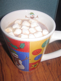 Hot Cocoa with Mini Marshmallows