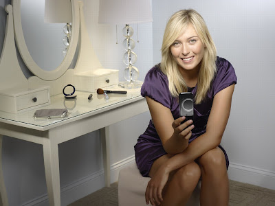 Buy the Sony Ericsson T303 and get a chance to meet Maria Sharapova
