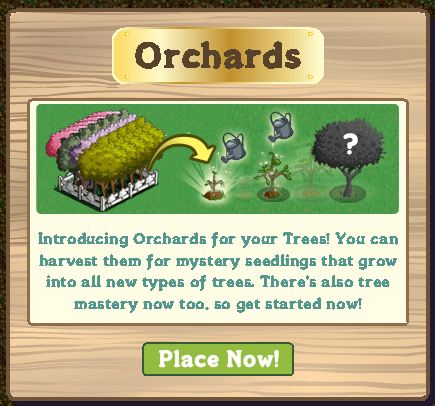 orchards in farmville. Introducing Orchards for your