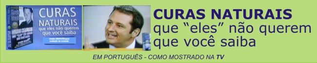 As CURAS NATURAIS