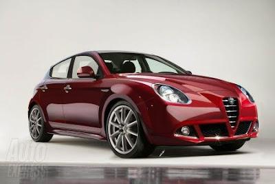 Alfa Romeo Giulietta al salone di Ginevra