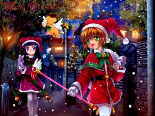 sakura y tomoyo navidad