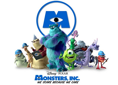 Monsters Inc - Best Movies 2001