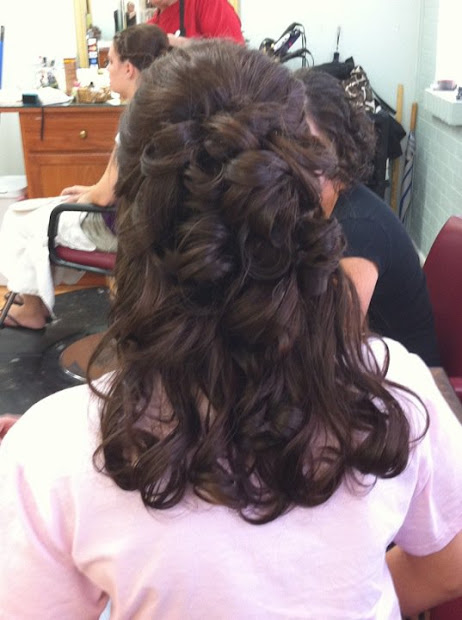 maid of honour hairstyles short