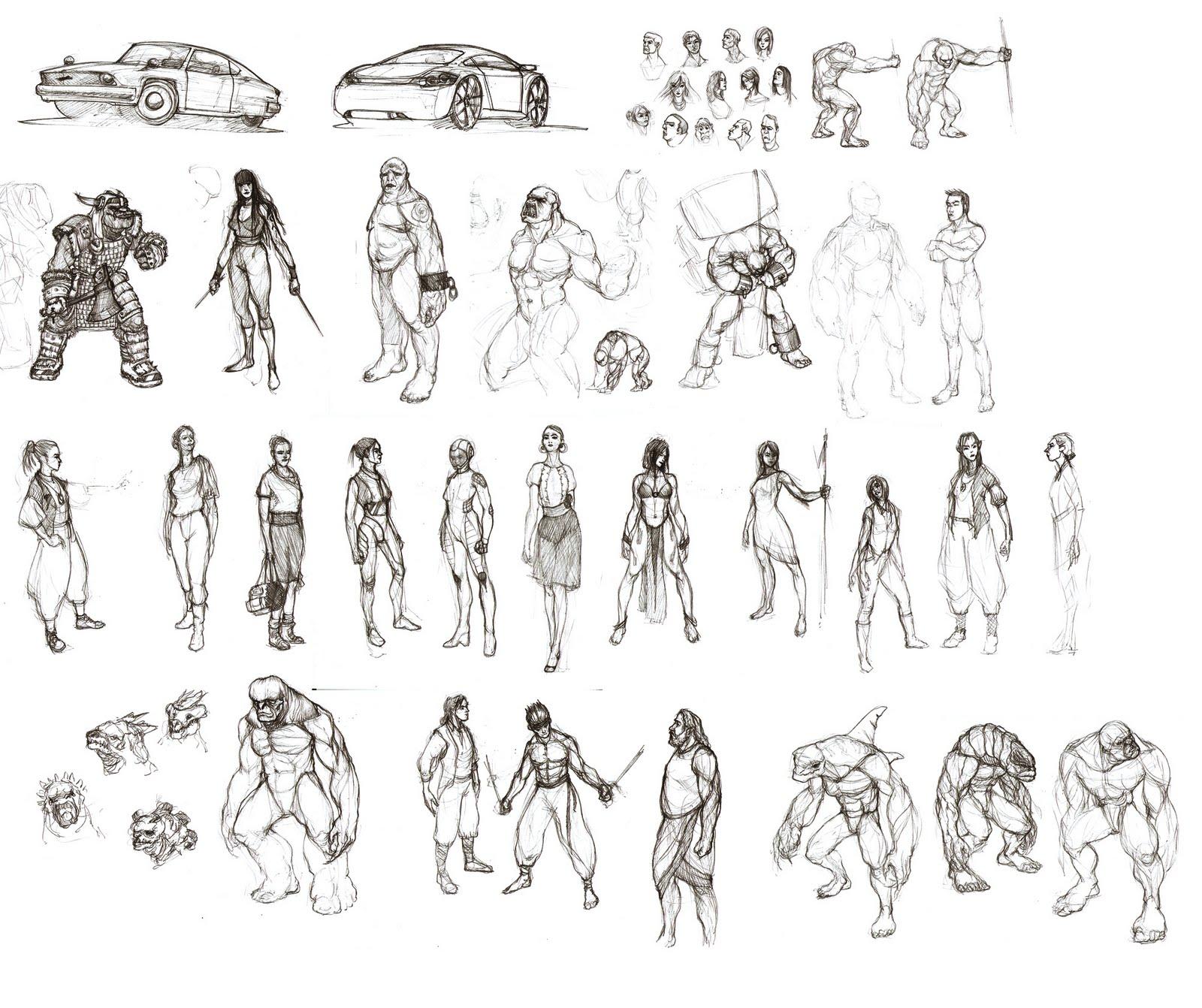 Character Design Study : Arthur tanudarta character design study