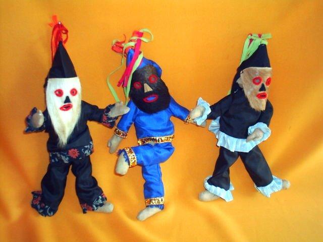 Bonecos brincantes