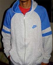 vintage nike blue tag hooded