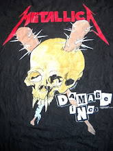 Metallica - Damage Tour 1987