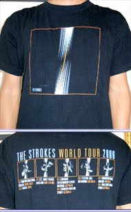the Strokes-world tour 2006