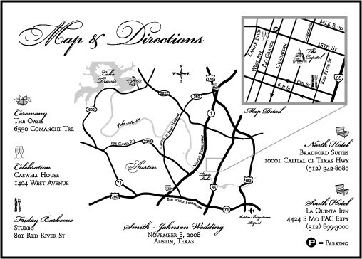 2BSquared Designs Get Your Craft On Making a Wedding Map