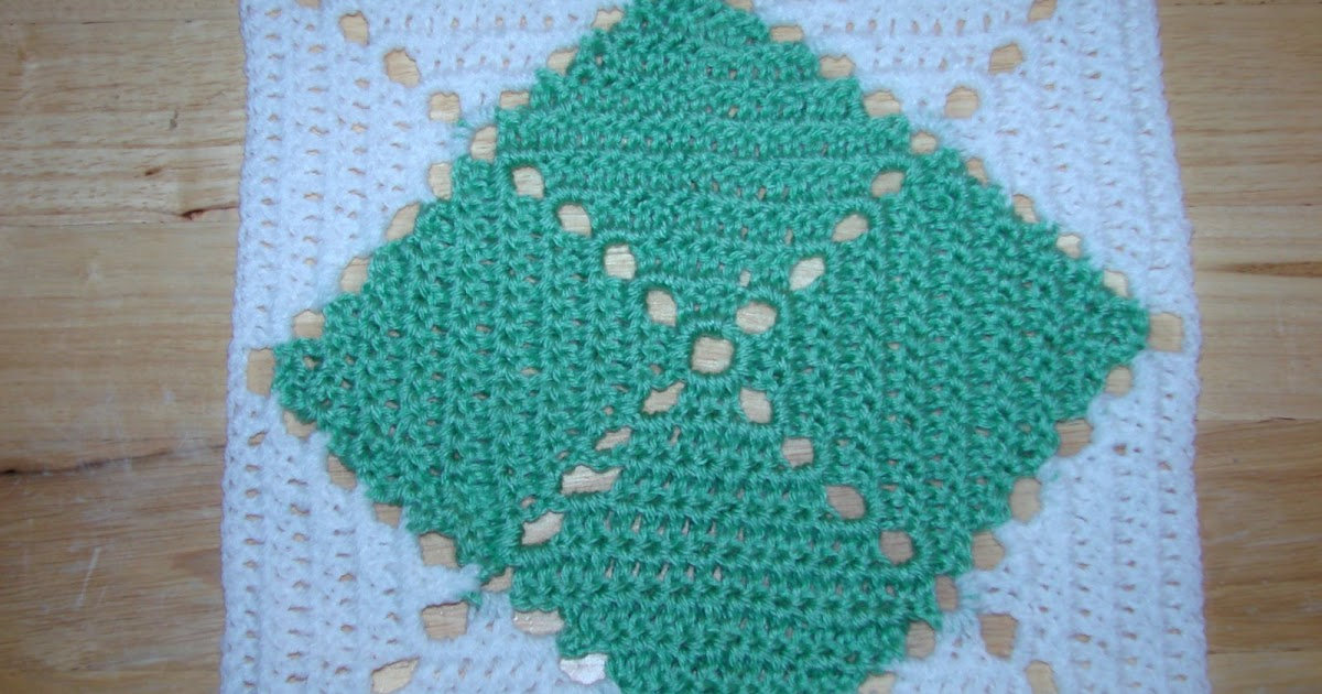 Enjoying Lifes Journey: Argyle Crochet Square