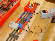 High Speed Lego Rail