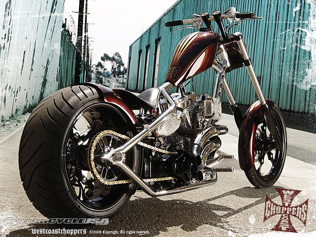 American Chopper Bike West-Coast-Choppers