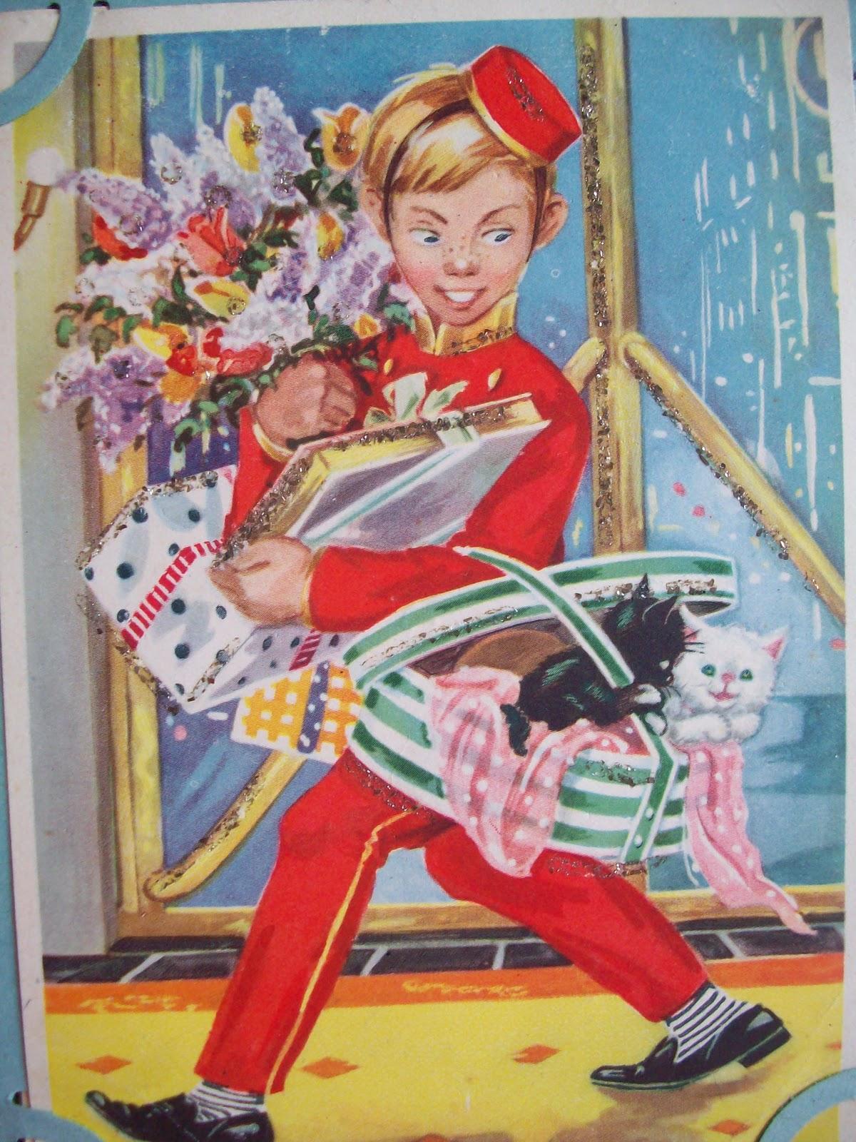 Немецкие открытки с куклами