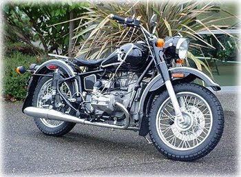 Motorcycle Ural Retro