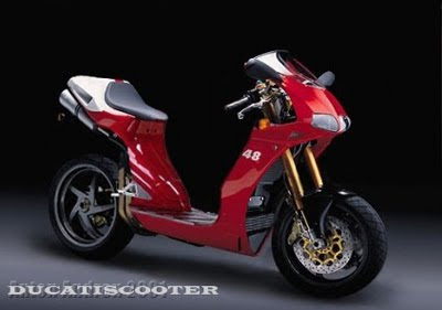 Motorcycle Ducati Scooter