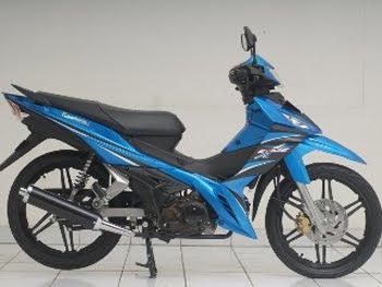 Motorcycle Kawasaki ZX130