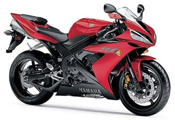 Yamaha R1 Red
