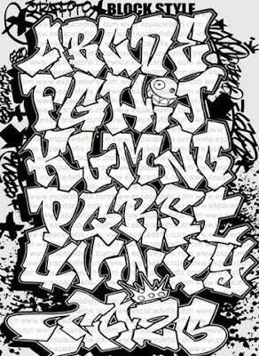 DESIGN GRAFFITI ALPHABET MURALS