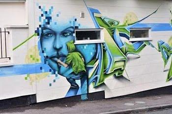 Design Graffiti,  Cool 3D Graffiti, Exterme Cartoon Graffiti, Murals graffiti