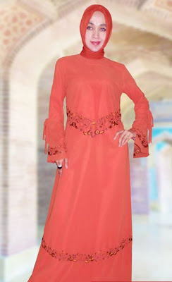 http://muslimmfashion.blogspot.com/, Orange, Bricks, Design, Feast, Gamis