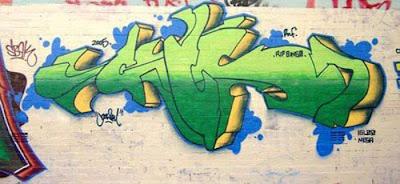 Australian, graffiti