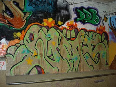 Name, Tagging, ON, gum, Train, graffiti, http://graffityartamazing.blogspot.com/