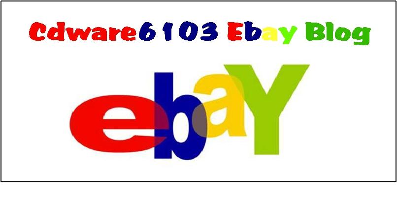 Cdware6103 Ebay Blog