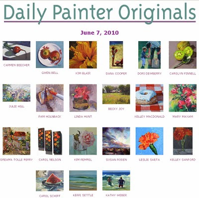 daily painters originals