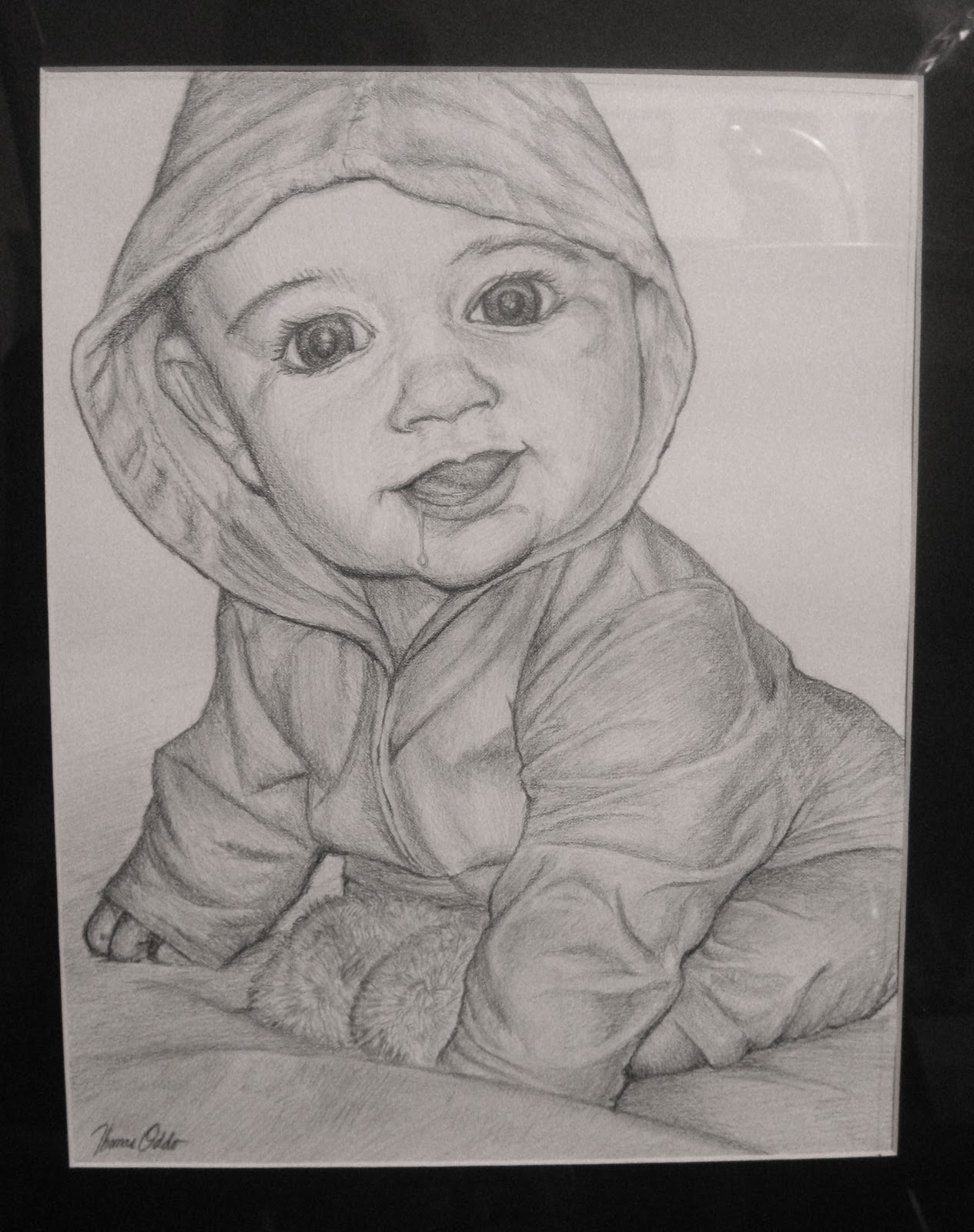 Pencil Drawings Of Babies Free High Resolution P...