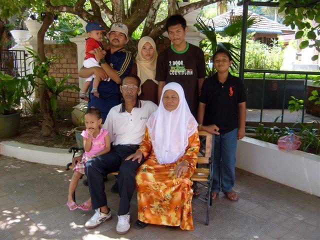 1/4 of family