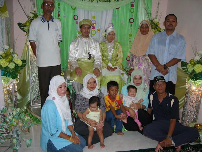 majlis perkahwinan Bik Ijah di rumah Kakik Khalil