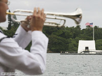 sailor plays taps