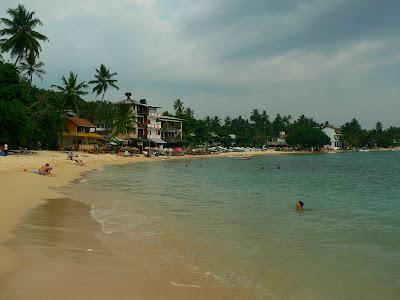 Imagini Sri Lanka: plaja din Unawatuna