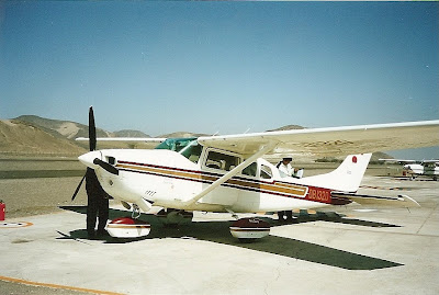 Nazca Lines Cessna plane