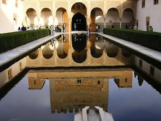 Imagini Spania: Alhmabra Granada, arhitectura musulmana