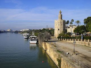 Imagini Spania: Torre del Oro Sevilla