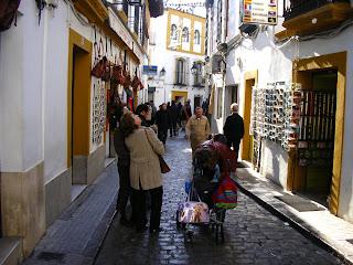 Imagini Cordoba: cartierul Juderia si magazine de suveniruri