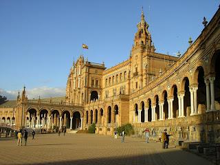 Obiective turistice Andaluzia: Plaza Espana