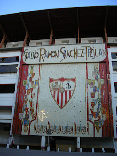 Imagini Andaluzia: stadionul Ramon Sanchez Pizjuan Sevilla